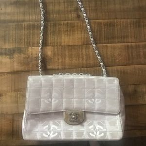 Chanel Travel Ligne Medium Flap Bag